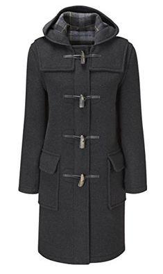 New Original Montgomery Womens Duffle Coat Toggle Coat online - Topofferclothing Coats For Women, Jackets For Women, Clothes For Women, Montgomery, Duffle Coat, Outerwear Women, Outdoor Outfit, Fast Fashion, Women's Fashion