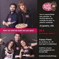 @SandraPhotos: Sushi-maga e SandraPhotos  - Workshop de Sushi e F...