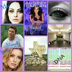 August Calendar Girl Series By Audrey Carlan