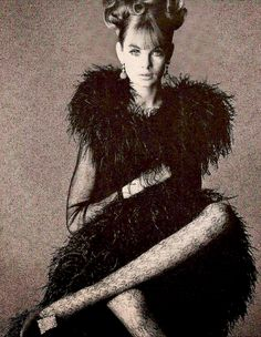 Jean Shrimpton by David Bailey, Vogue UK, November 1965