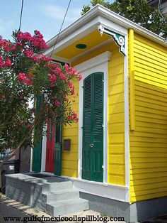 Bywater Neighborhood New Orleans , my oldest son born doors down from this pad