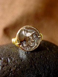 Athena ring by VisaVisJewelryLA on Etsy,