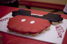 Robin Buckeye Birthday Cake