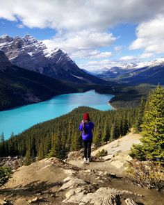 Peyto Lake Banff Alberta Canada - probably the best photo I've even taken with my mobile phone