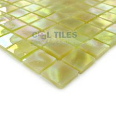 "Home > Tile > Mosaic Tiles: Elida Ceramica - Elite Beach - 13""x13"" Glass Mosaic in Onyx Dune"