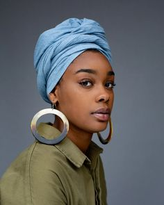 Turbans, Natural Hair Styles, Short Hair Styles, Bandanas, Head Wraps For Women, Swag Girl Style, African Head Wraps, African Hairstyles, Bold Prints