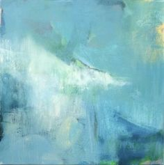 "Saatchi Art Artist Mary Elizabeth Peterson; Painting, ""out of the blue"" #art"