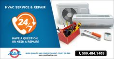 24 Emergency Service - HVAC - Heating & Cooling