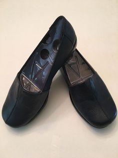 Aerosoles Shoe Size 7 5W Blue Flat Fabrication Leather New   eBay