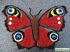 Spring is Coming, Crochet a Kaleidoscope of Butterflies! | KnitHacker | Bloglovin'