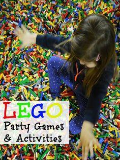 Lego Birthday Party Games #LegoPartyIdeas                                                                                                                                                                                 More