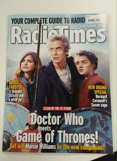 Absolutely love what @RadioTimes did with the #doctorwho Ep 5 iconic image.