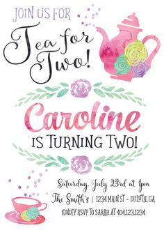 9 Best 2nd Birthday Invitations Images
