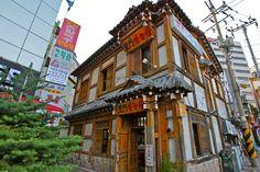Old-Fashioned Korean Restaurant