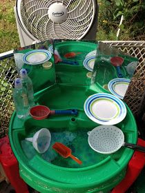 Awesome, easy, cheap Montessori activities for the backyard!