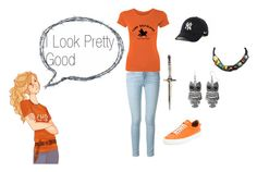 ~Style Steeler: Annabeth Chase of PJO/HoO~ by crazytaylah-22 on Polyvore featuring Frame Denim, Givenchy, Pamela Love, Arizona and NIKE