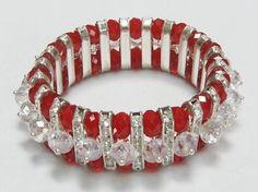 Pretty Glass Crystal Bracelet