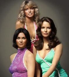 The original Charlie's Angels, Kate Jackson,Farrah Fawcett Jaclyn Smith, Kate Jackson, Farrah Fawcett, Jaclyn Smith, Beautiful People, Beautiful Women, Cheryl Ladd, Actrices Hollywood, Old Tv Shows, Vintage Tv