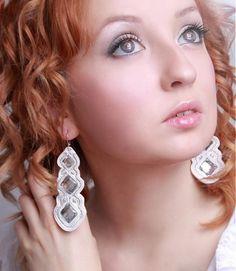 Diamond Earrings, Jewelry, Fashion, Moda, Jewlery, Jewerly, Fashion Styles, Schmuck, Jewels