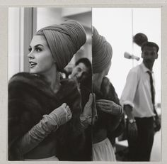 Paul Huf was born #onthisday in 1924. Paul Huf (1924-2002) took this photo in 1961 for fashion designer Max Heyman. The model you see is Rita (Bonny Huf). Fashion Portrait of Rita (Bonny Huf) and on the background photographer Hans Dukkers, Paul Huf, 1961 #Photography #Rijksmuseum #Amsterdam
