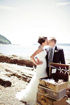 Nautical inspired wedding decor
