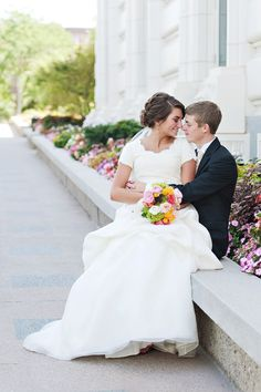 At the LDS temples Happiness last FOREVER not just til' death...