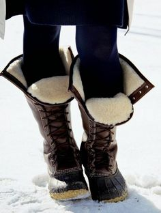 Laarzen gevoerd voor  winter