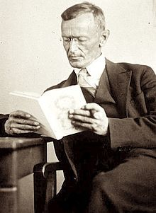 Hermann Hesse ( July 2, 1877 – August 9, 1962) was a German-Swiss poet, novelist, and painter. In 1946, he received the Nobel Prize in Literature. His best-known works include Steppenwolf, Siddhartha, and The Glass Bead Game (also known as Magister Ludi), each of which explores an individual's search for authenticity, self-knowledge and spirituality.