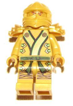 LEGO GOLDEN NINJAGO NINJA GOLD LLOYD SAMURAI FIGURE MINIFIG MINIFIGURE
