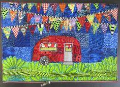 Jamie Fingal's Airstream quilt blocks -- so cute!