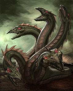 hydra dragon concept art - Apocalypse