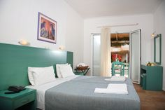 Zefyros Hotel Bedroom - Book Now Your Zante Holidays in Zefyros Hotel by Visiting the Following Link: http://www.zantehotels4u.com/english/main/hotels/details/Zefyros-Hotel/128