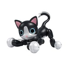 Zoomer Kitty Interactive Cat Kids Toy Pet Robot Kitten Cuddle Black Gift New Diy Cat Toys, Robot Cat Toy, Zoomer Kitty, Diy Jouet Pour Chat, Top Toys For Girls, Personajes Monster High, Interactive Cat Toys, Best Kids Toys, Electronic Gifts