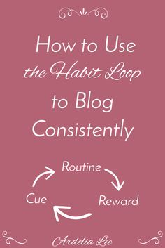 Are you struggling to blog consistently? Consistency is one of the challenges facing both new and experienced bloggers, so you're not alone in your struggle. Before you give up and declare that you're a failure (and that's one thing you certainly are NOT), try harnessing the power of habits by intentionally creating a habit loop that works for you. Click through to learn how you can use a habit loop to achieve your blogging goals. The best part? You can apply this to any aspect of your life.