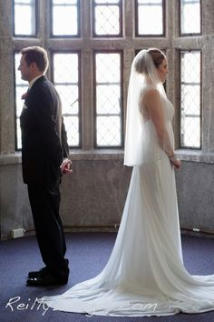 The First Look.  The Press House Madison.  Madison Wedding Photographers