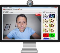 AlterCam - webcam effects software for Windows. Download it right now and have fun!