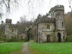 Ballysaggartmore Castle, Ireland.