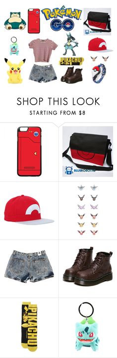 """Pokemon Go"" by thecaptain101 ❤ liked on Polyvore featuring Hot Topic, Nintendo and WithChic"