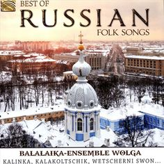 Balalaika Ensemble Wolga - Best of Russian Folk Songs (CD)