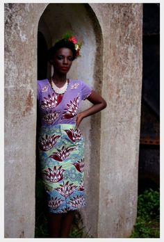 contrasting prints in the'Zoti' lookbook - Creative director, Ajepomaa Mensah