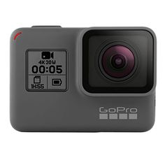 Stunning 4K video and 12MP photos in Single, Burst and Time Lapse modes. Durable by design, HERO5 Black is waterproof to 33ft (10m) without a housing Additional GoPro HERO5 Black Features + Benefits below on item page.