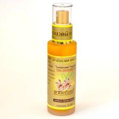 Massageöl aus Kräutern würzig duftend 70ml Sprühf