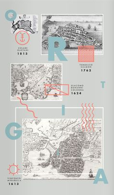 La Mappa di Ortigia è un omaggio ai moderni viaggiatori del Grand Tour.-The Ortigia Map is a tribute to the modern Grand Tourists.