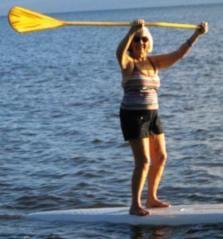 Inspiring Mom at age 82 loving life and the sea