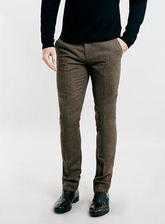 SKINNY FIT SUIT DRESS PANTS