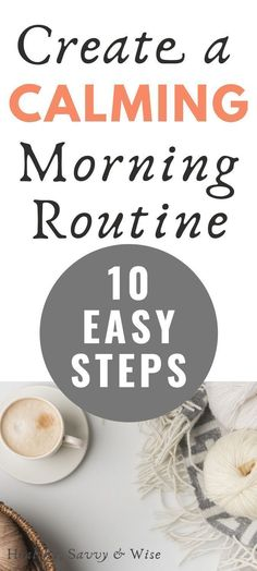 Did you know that with only TEN small changes, you can create an oasis of calm for your morning? This morning routine guide will help you prepare for your day. not just survive the morning rush! Routines, self-care, and healthy habits are good for ever Healthy Morning Routine, Morning Habits, Morning Routines, Daily Routines, Healthy Routines, Bedtime Routine, Evening Routine, Night Routine, Wellness Tips