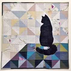 Silhoucat Quilt Pattern · Free Quilting Patterns