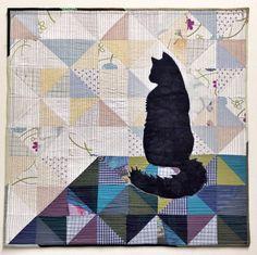 Luke Haynes Silhoucat Quilt Along at WeAllSew. #LUKEhaynes #modern #quilt