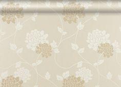 Isodore Linen Floral Wallpaper LOVE!!!!!!!!