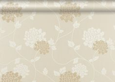 Isodore Linen Floral Wallpaper